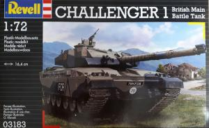 Bausatz: Challenger 1 British Main Battle Tank