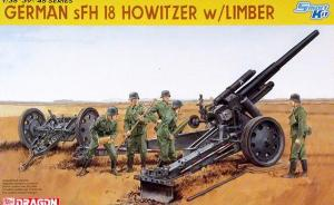 German sFH 18 Howitzer with Limber