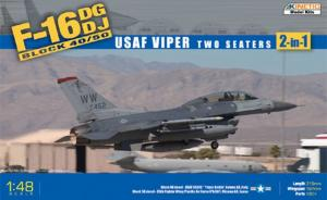 F-16DG/DJ Block 40/50 USAF Viper Two Seaters 2-in-1