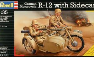 German Motorcycle R-12 with Sidecar