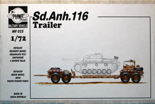 Sd.Ah.116, Planet Models Nr. MV 025