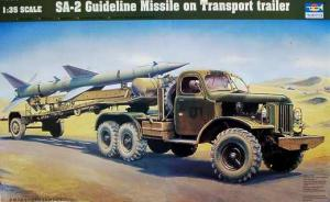 Bausatz: SA-2 Guideline Missile on Transport trailer