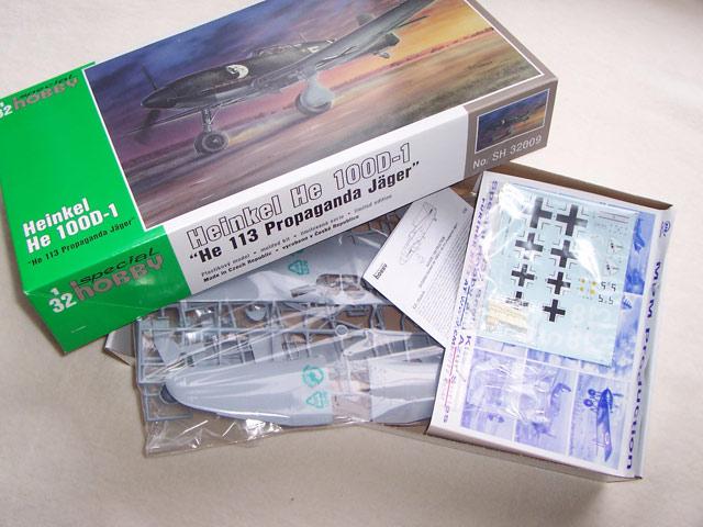 Heinkel He 100D en duo, 1:48 HiPM & 1:72 MPM 4068-109509