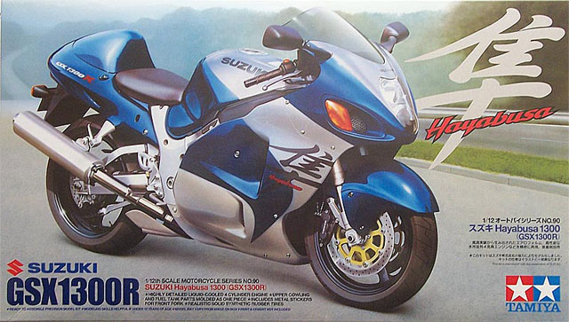 suzuki gsx 1300r hayabusa tamiya nr 14090. Black Bedroom Furniture Sets. Home Design Ideas