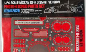 Nissan GT-R (R35) GT Version Photo Etched Parts Set