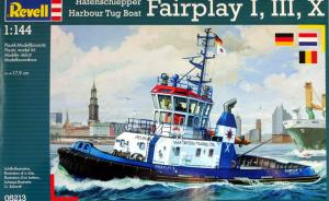 Bausatz: Hafenschlepper Fairplay I, III, X