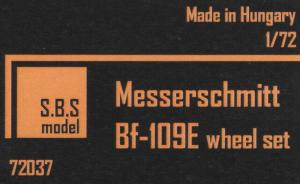 Messerschmitt Bf-109E wheel set