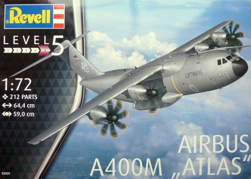 "Revell 03929 Airbus A400M /""ATLAS/"" Bausatz 1:72 NEU"