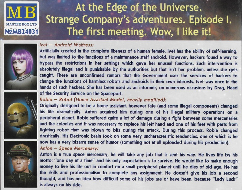 At the Edge of the Universe. Episode I. The first meeting.