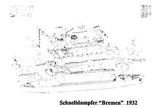 HP-Models - Queen of the Seas - Der Schnelldampfer Bremen 1932
