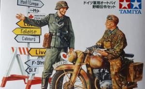 German Motorcycle Orderly
