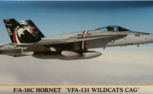 : F/A-18C Hornet 'VFA-131 Wildcats CAG'