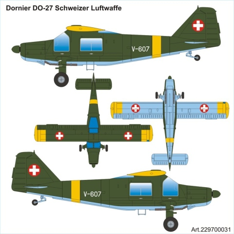 Airpower87 - Dornier Do-27 Heer Bundeswehr