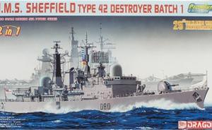 HMS Sheffield Typ 42 Destroyer Batch 1