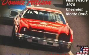 Kit-Ecke: Chevrolet Monte Carlo 1978 Donnie Allison Final Victory