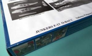 Kit-Ecke: Junkers F13 Sabena Pidgeon Carrier
