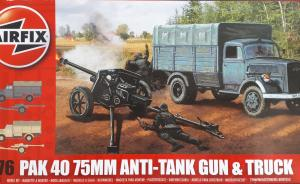 Kit-Ecke: PaK 40 75mm Anti-Tank Gun & Truck