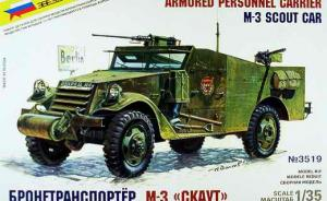 M-3 SCOUT CAR / Armored Personnel Carrier (APC)