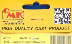 JA-37 Viggen Canard correction set