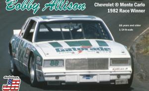 Kit-Ecke: Bobby Allison Chevrolet Monte Carlo 1982 Race Winner