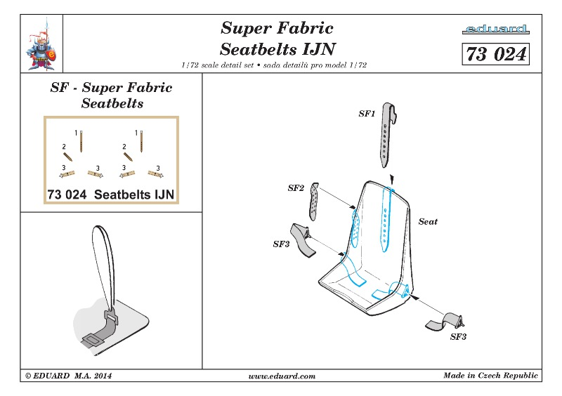 Eduard - Seatbelts IJN Super Fabric
