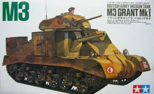 British Army Medium Tank M3 'Grant' Mk I