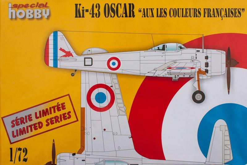 Nakajima Ki-43 III Oscar GC 1/7 Provence 11177-deckel