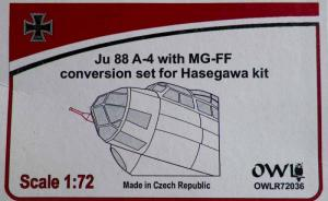 Ju 88 A-4 with MG-FF conversion set