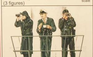 U-VII Crew (guard with binoculars)