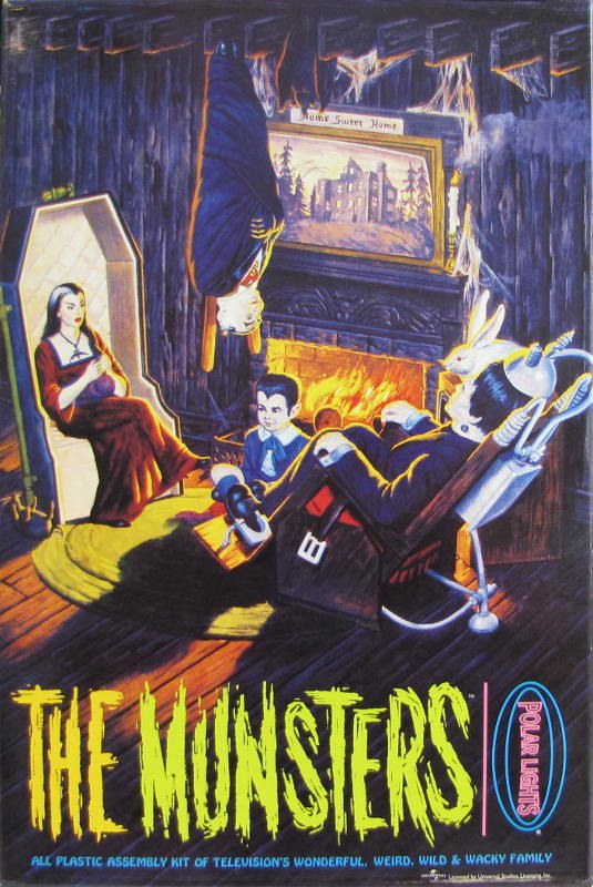 The Munsters Livingroom