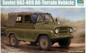 : Soviet UAZ-469 All-Terrain Vehicle
