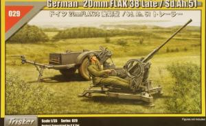 German 20mm Flak38 Late/Sd.Ah.51