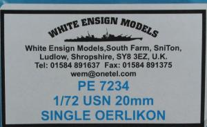 : USN 20mm SINGLE OERLIKON