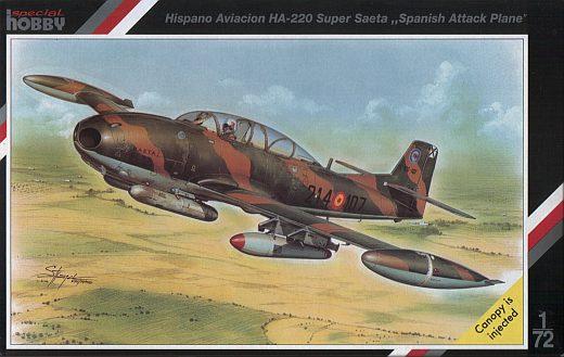 HA-220 Super Saeta - Special Hobby 1/72 1219-deckel