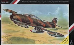 "Hispano Aviacion HA-220 Super Saeta ""Spanish Attack Plane"""