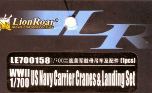 US Navy Carrier Cranes & Landing Set