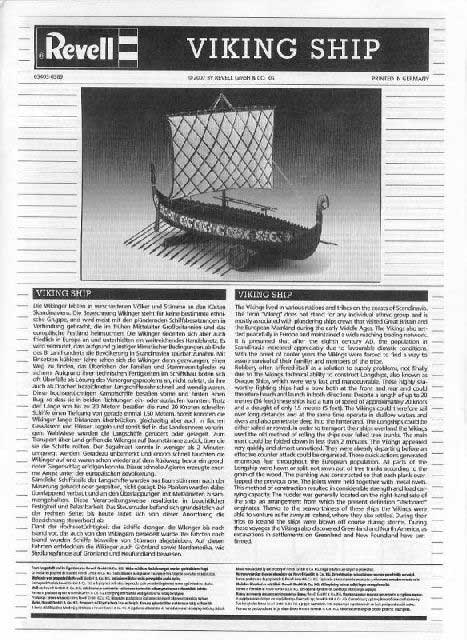 Revell - Viking Ship