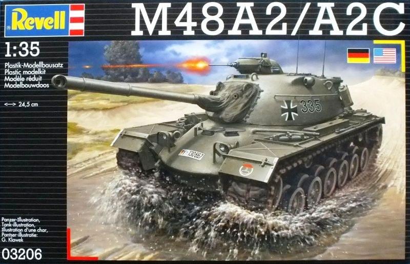 Modellbausatz Revell 03206 M48 A2//A2C im Ma/ßstab 1:35