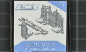 Bell 412 N302FD interior set