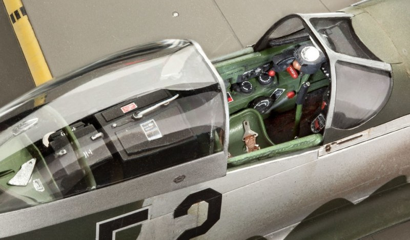 Revell - P-51D-5NA Mustang early version
