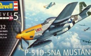 Bausatz: P-51D-5NA Mustang early version