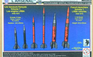 ": French Launchers Volume 1 ""LRBA Vehicles 1948-1975"""