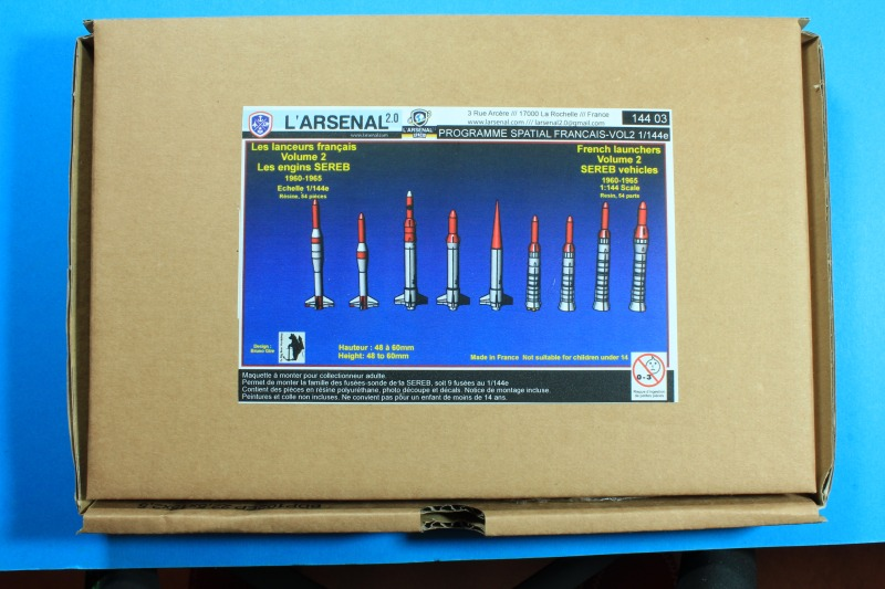 "L'Arsenal - French Launchers Volume 2 ""SEREB Vehicles 1960-1965"""