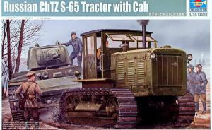 Russsian ChTZ S-65 Tractor with Cab