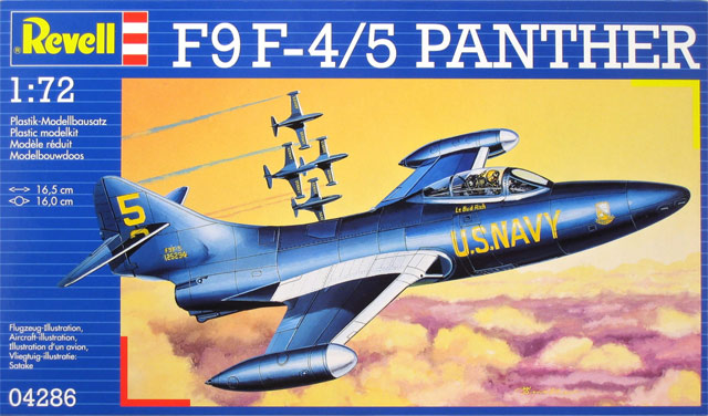 Revell 1/72 F9F-5 Panther