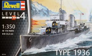 German Destroyer Type 1936