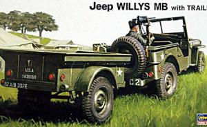 Willy´s Jeep MB with trailer