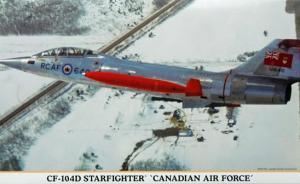 "Detailset: CF-104D Starfighter ""Canadian Air Force"""