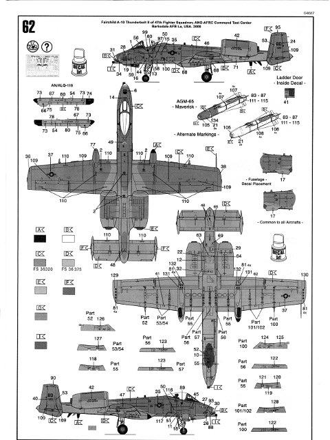 a-10 thunderbolt ii  revell nr  04687