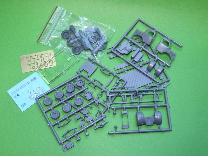 Attack Hobby Kits - L1500A Wehrmacht Light Truck 4x4